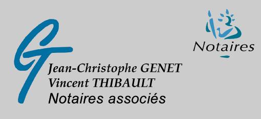 page contact des notaires Genet-Thibault à Meulan-en-Yvelines